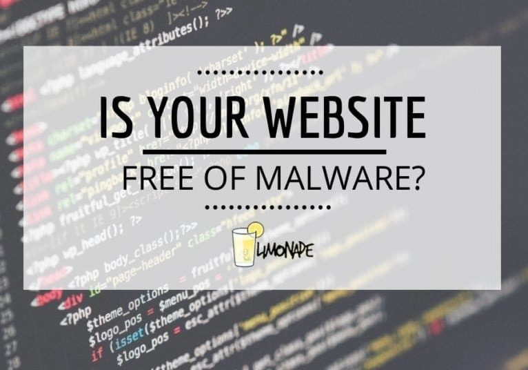 Is your website free of Malware?