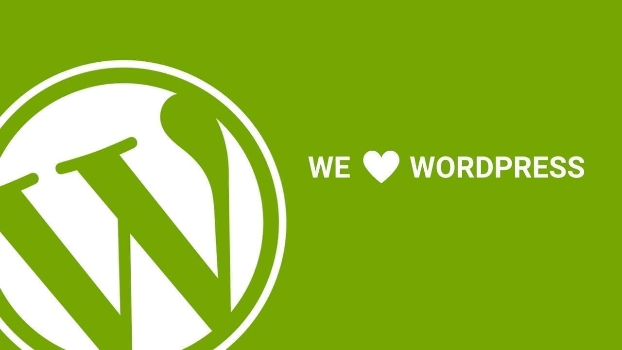 We love Working with WordPress